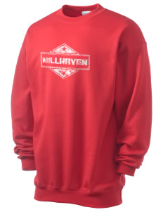 Millhaven Men's 7.8 oz Lightweight Crewneck Sweatshirt