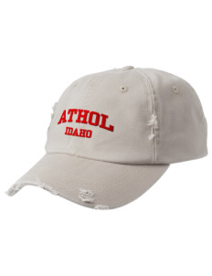 Athol Embroidered Distressed Cap