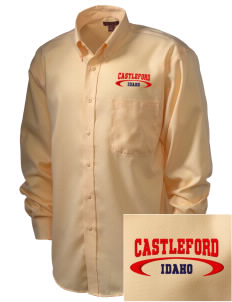 Castleford  Embroidered Men's Nailhead Non-Iron Button-Down