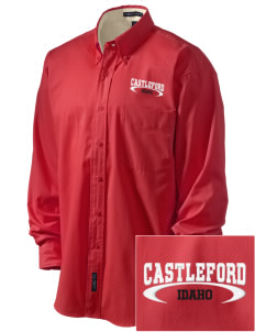 Castleford Embroidered Men's Easy-Care Shirt