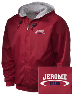 Jerome Embroidered Holloway Men's Hooded Jacket