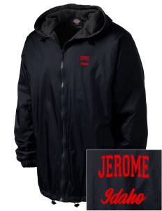 Jerome Embroidered Dickies Men's Fleece-Lined Hooded Jacket