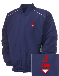 Jerome Embroidered Russell Men's Baseball Jacket
