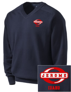 Jerome Embroidered Men's V-Neck Sweater