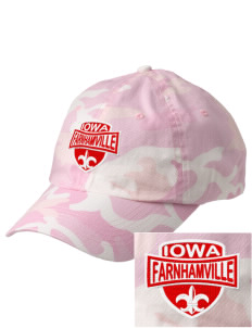 Farnhamville Embroidered Camouflage Cotton Cap