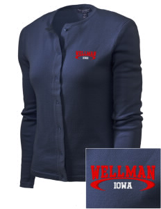 Wellman Embroidered Women's Cardigan Sweater