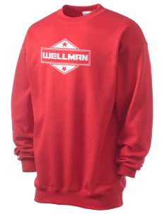Wellman Men's 7.8 oz Lightweight Crewneck Sweatshirt