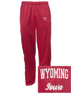 Wyoming Embroidered Men's Tricot Track Pants