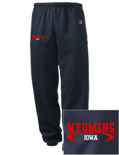 Wyoming Embroidered Champion Men's Sweatpants