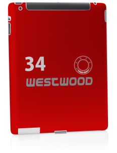 Westwood Apple iPad 2 Skin