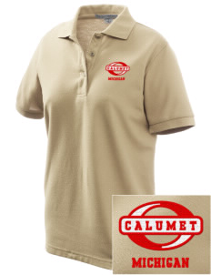 Calumet Women's Embroidered Silk Touch Polo