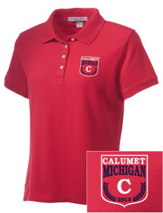 Calumet Embroidered Women's Performance Plus Pique Polo