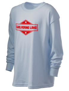 Wolverine Lake Kid's 6.1 oz Long Sleeve Ultra Cotton T-Shirt