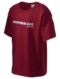 Wolverine Lake Kid's 6.1 oz Ultra Cotton T-Shirt