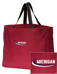 Wolverine Lake Embroidered Essential Tote