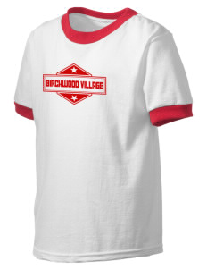 Birchwood Village Kid's Ringer T-Shirt
