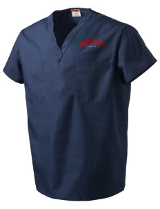 Sandstone V-Neck Scrub Top