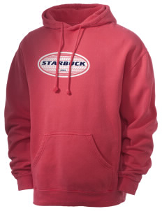 Starbuck Men's 80/20 Pigment Dyed Hooded Sweatshirt