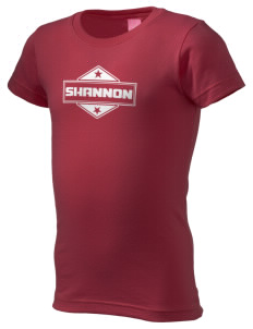 Shannon  Girl's Fine Jersey Longer Length T-Shirt