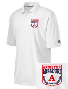 Anniston Embroidered Russell Coaches Core Polo Shirt