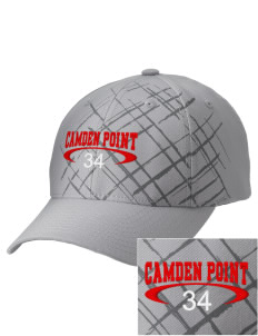 Camden Point Embroidered Mixed Media Cap