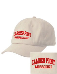 Camden Point Embroidered Champion 6-Panel Cap