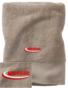 Hale Embroidered Zero Twist Resort Towel