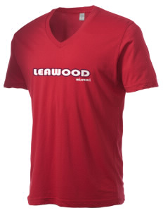Leawood Alternative Men's 3.7 oz Basic V-Neck T-Shirt