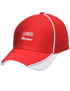 Leawood Embroidered New Era Contrast Piped Performance Cap