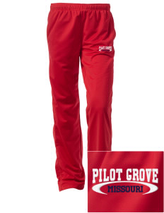 Pilot Grove Embroidered Women's Tricot Track Pants