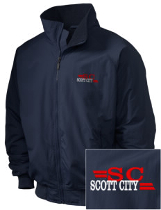 Scott City Embroidered Holloway Men's Tall Jacket