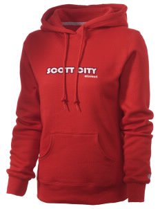 Scott City Russell Women's Pro Cotton Fleece Hooded Sweatshirt