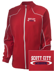 Scott City Embroidered Russell Women's Full Zip Jacket