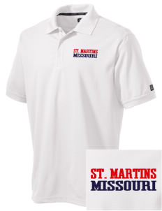 St. Martins Embroidered OGIO Men's Caliber Polo