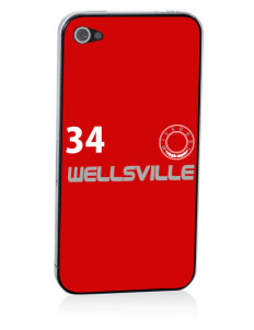 Wellsville Apple iPhone 4/4S Skin