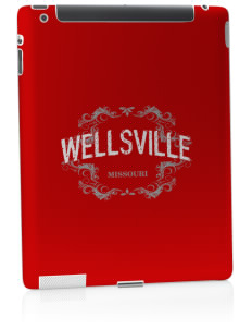 Wellsville Apple iPad 2 Skin
