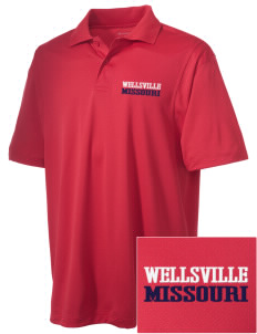 Wellsville Embroidered Men's Micro Pique Polo