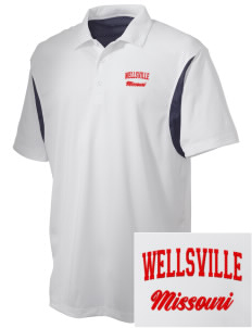 Wellsville Embroidered Men's Back Blocked Micro Pique Polo