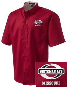 Whiteman AFB Embroidered Men's Easy Care Shirt