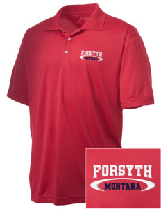Forsyth Embroidered Men's Double Mesh Polo