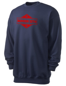 Beaver City Men's 7.8 oz Lightweight Crewneck Sweatshirt