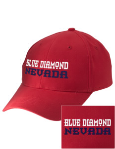 Blue Diamond Embroidered Low-Profile Cap
