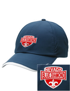 Blue Diamond Embroidered Nike Dri-FIT Swoosh Perforated Cap