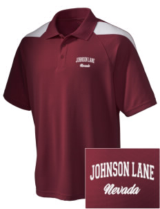 Johnson Lane Embroidered Holloway Men's Frequency Performance Pique Polo
