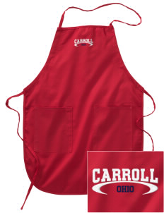 Carroll Embroidered Full Length Apron