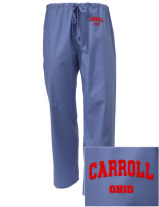 Carroll Embroidered Scrub Pants