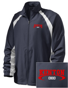 Kenton  Embroidered Men's Full Zip Warm Up Jacket