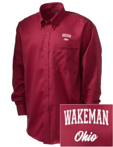 Wakeman  Embroidered Men's Nailhead Non-Iron Button-Down