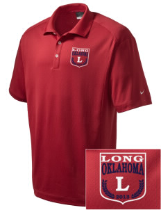 Long Embroidered Nike Men's Dri-Fit Classic Polo