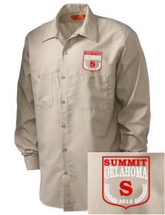 Summit Embroidered Men's Industrial Work Shirt - Regular